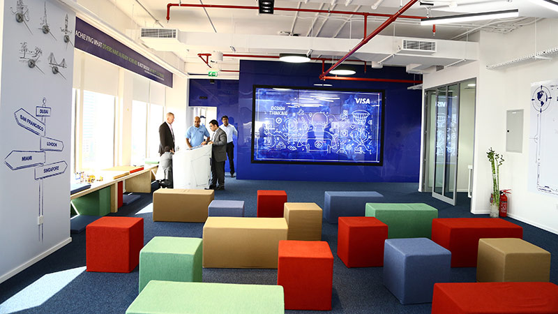 Dubai Innovation Center cubes